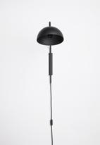 Emerging Creatives - Stockholm swing arm lamp - black