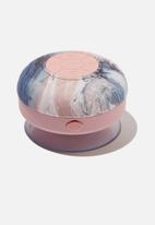 Typo - Shower speaker - blue & pink