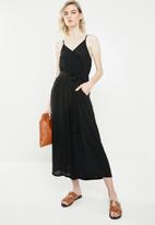 Vero Moda - Morning culotte jumpsuit - black