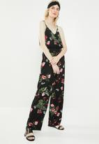 Vero Moda - Simply easy strap jumpsuit - black