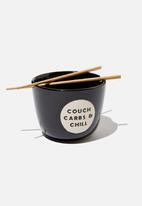Typo - Novelty noodle bowl - couch carbs & chill