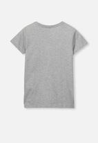 Cotton On - Short sleeve license tee - grey