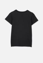 Cotton On - Short sleeve license tee - black