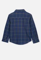 Cotton On - Prep long sleeve shirt - navy