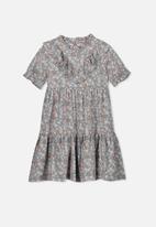 Cotton On - Laura short sleeve dress - multi