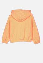 Cotton On - Suvi crop hoodie - orange