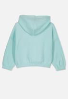 Cotton On - Suvi crop hoodie - blue