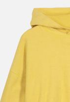 Cotton On - Suvi crop hoodie - yellow