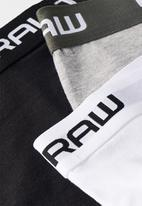 G-Star RAW - Classic trunk 3 pack - multi