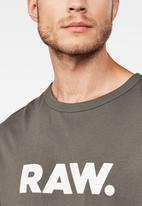 G-Star RAW - Holorn short sleeve tee - grey