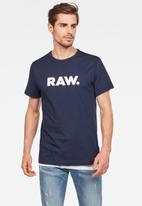 G-Star RAW - Holorn short sleeve tee - navy
