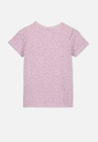 Cotton On - Lux short sleeve tee - purple