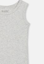 Cotton On - The singlet bubbysuit - grey