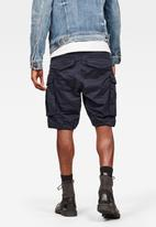 G-Star RAW - Rovic zip relaxed fit shorts - navy