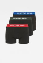 G-Star RAW - 3 pack tach trunks - black