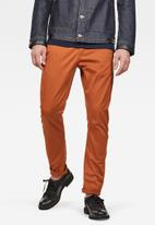 G-Star RAW - Vetar slim fit chino - orange