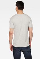G-Star RAW - Graphic 12 slim fit r t short sleeve tee - grey