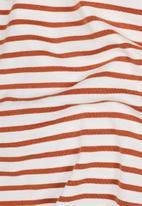 G-Star RAW - Resistor r t short sleeve tee - orange & white