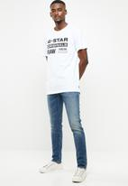 G-Star RAW - Graphic 8 short sleeve tee - white