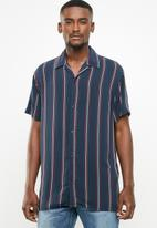 Jack & Jones - Charlie stripe shirt - navy