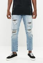 Jack & Jones - Frank leen regular fit jeans - blue