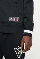 Nike - Nsw Nike air hoodie fz flc - black