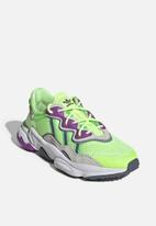 adidas Originals - Ozweego shoes - hi-res yellow/orchid tint/shock lime