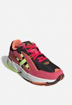adidas Originals - Yung-96 chasm - core black/hi-res yellow/energy pink