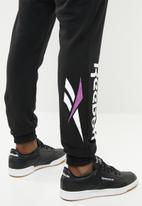 Reebok Classic - Cl vector jogger pant - black