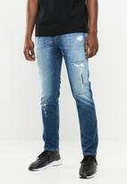 Diesel  - Thommer stretch jean - blue