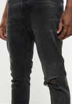 Diesel  - D-eetar stretch jean - black