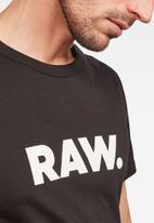 G-Star RAW - Horlon tee short sleeve - black