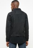 S.P.C.C. - Utility denim jacket - black