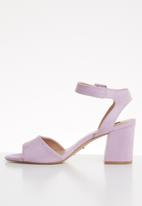 ONLY - Amanda heeled sandal - purple