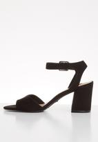 ONLY - Amanda heeled sandal - black
