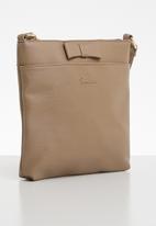 Pierre Cardin - Krystal crossbody bag - brown
