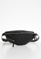 ONLY - Zipper bumbag - black