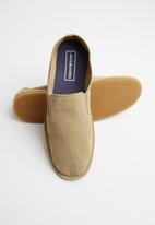 Jack & Jones - Niall suede loafer - tan
