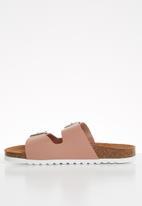 Vero Moda - Stacked flatform sandal - pink