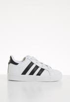 adidas - Coast star shoes - black & white