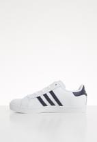 adidas Originals - Coast star shoes - navy & white