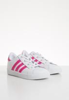 adidas Originals - Coast star shoes - pink & white