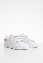 adidas Originals - Stan smith shoes - pink & white