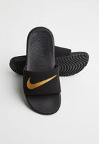 Nike - Nike kawa slides - black