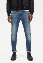 G-Star RAW - 3301 slim-elto super stretch jeans - blue
