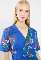 Jacqueline de Yong - Povla long dress - blue