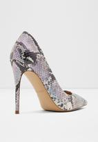 ALDO - Stiletto heel court - purple & white