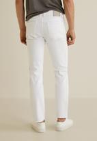 MANGO - Jan 4 jean - white