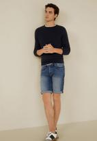 MANGO - Rock 4 bermuda shorts - blue