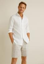 MANGO - Parrot shirt - white